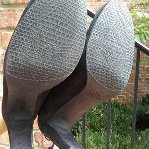 Stuart Weitzman Shoes - Stuart Weitzman Glove Black Suede Ankle Boots 11M